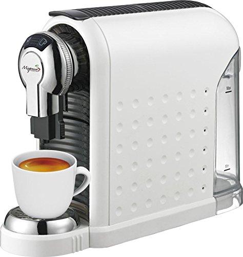 Espresso Machine – 20 Bonus Nespresso Compatible Capsules – By Mixpresso (White)