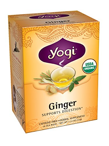 Yogi Teas, 16 Tea Bags (Pack of 6), Ginger