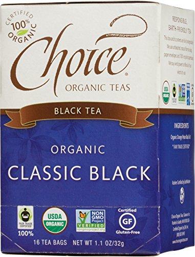 Choice Organic Classic Black Tea, 16 Count Box