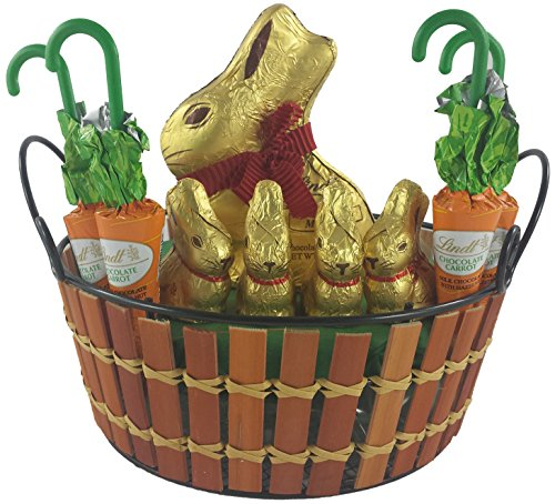Lindt Easter Bunny Basket — Small