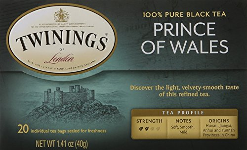 Twinings Prince of Wales Tea, Tea Bags, 20 Count