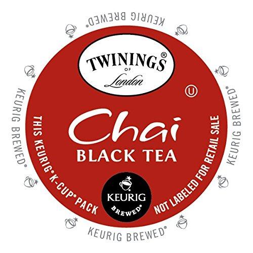 Twinings Chai Tea, Keurig K-Cups, 24 Count (Pack of 4)