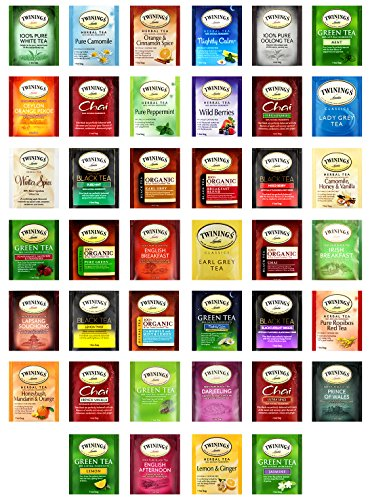 Custom VarieTea Twinings Tea Bags Assortment Includes Mints (40 Count)