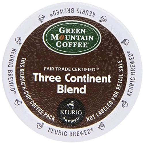 Green Mountain Three Continent Blend Coffee, K-Cup Portion Pack for Keurig Brewers (24 Count)