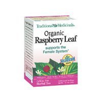 Traditional Medicinals Organic Tea Raspberry Leaf 16 tea bags 1736