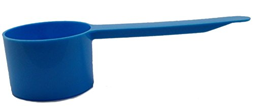 Yankee Traders Coffee 3 Durable Plastic Scoops, One Size, Light Blue