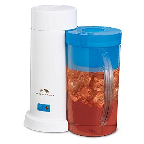 Mr. Coffee Tm1 Iced Tea Maker 2-qt. Blue Kitchen Appliances