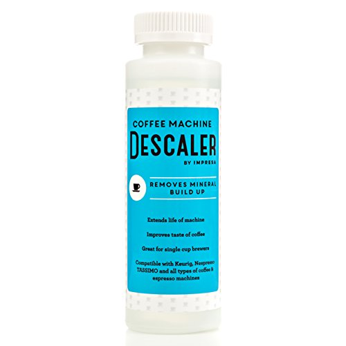 Descaler / Descaling Solution for Keurig, Nespresso, and Other Coffee/Espresso Machines