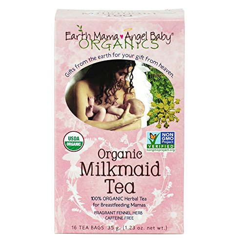 Earth Mama Angel Baby Milkmaid Nursing Tea, 16 Count