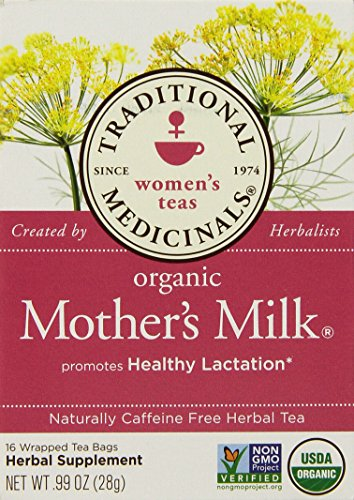Traditonal Medicinals Mother's Milk Tea – 16 Tea Bags