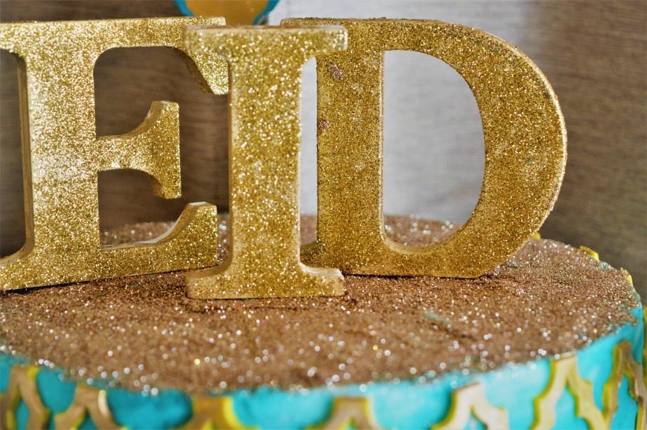 Eid Cake Topper