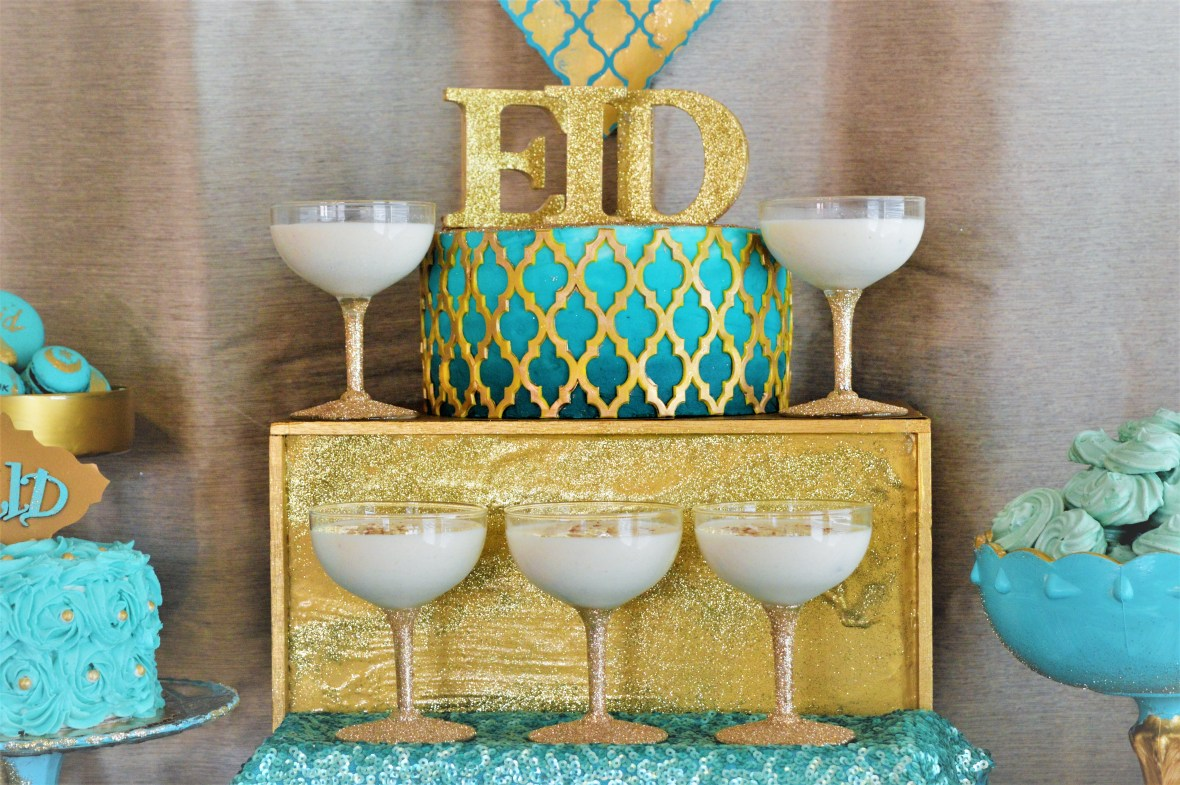 Eid Cake and Topper