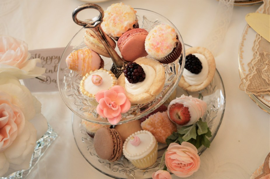 desserts for tea party