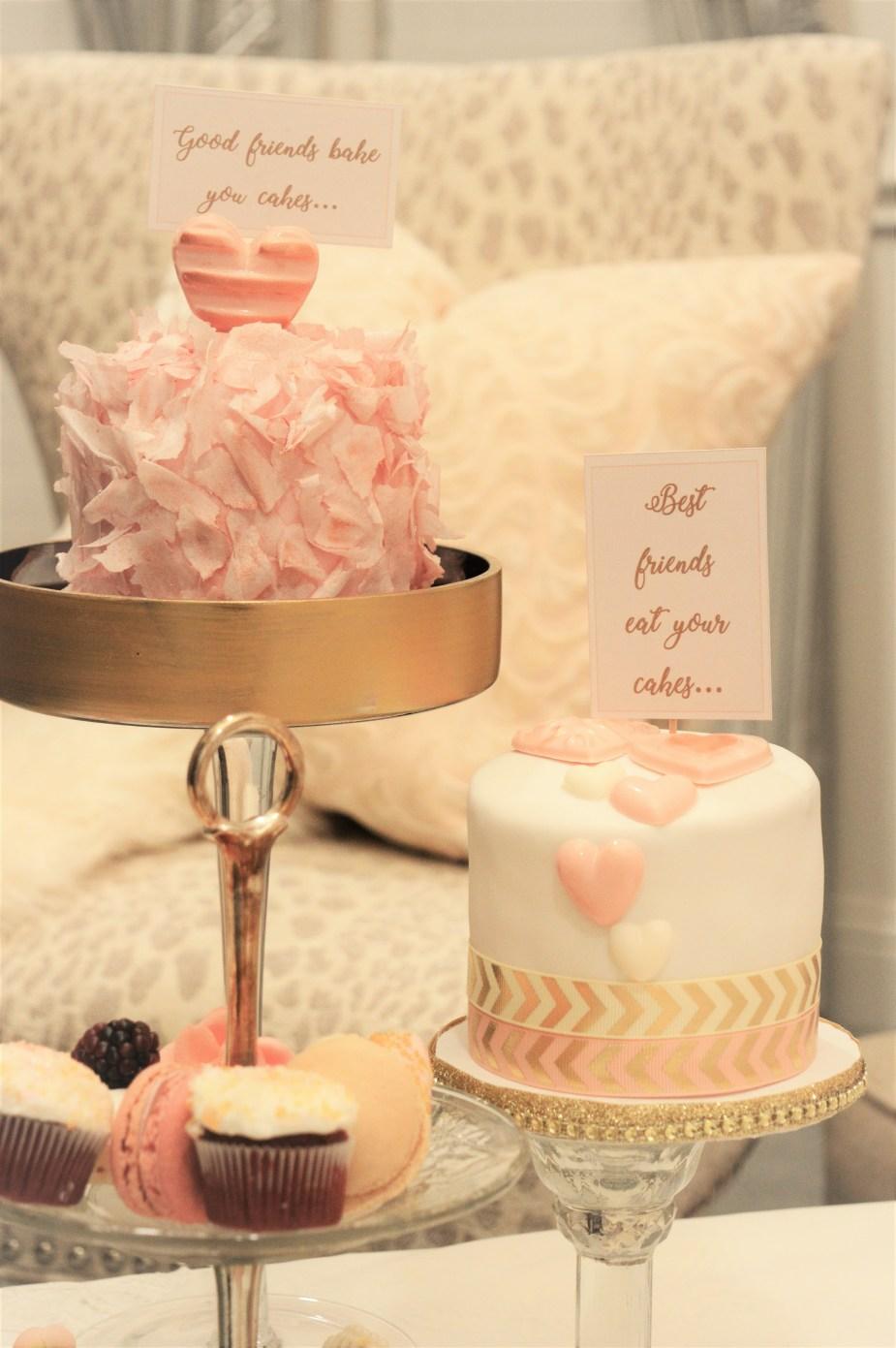 Galentine's cake topper