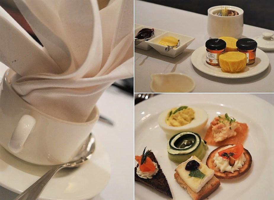 Tea at Ritz Carlton Davenport Lounge