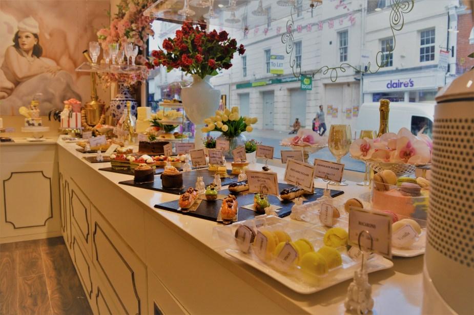Madame Posh dessert selection
