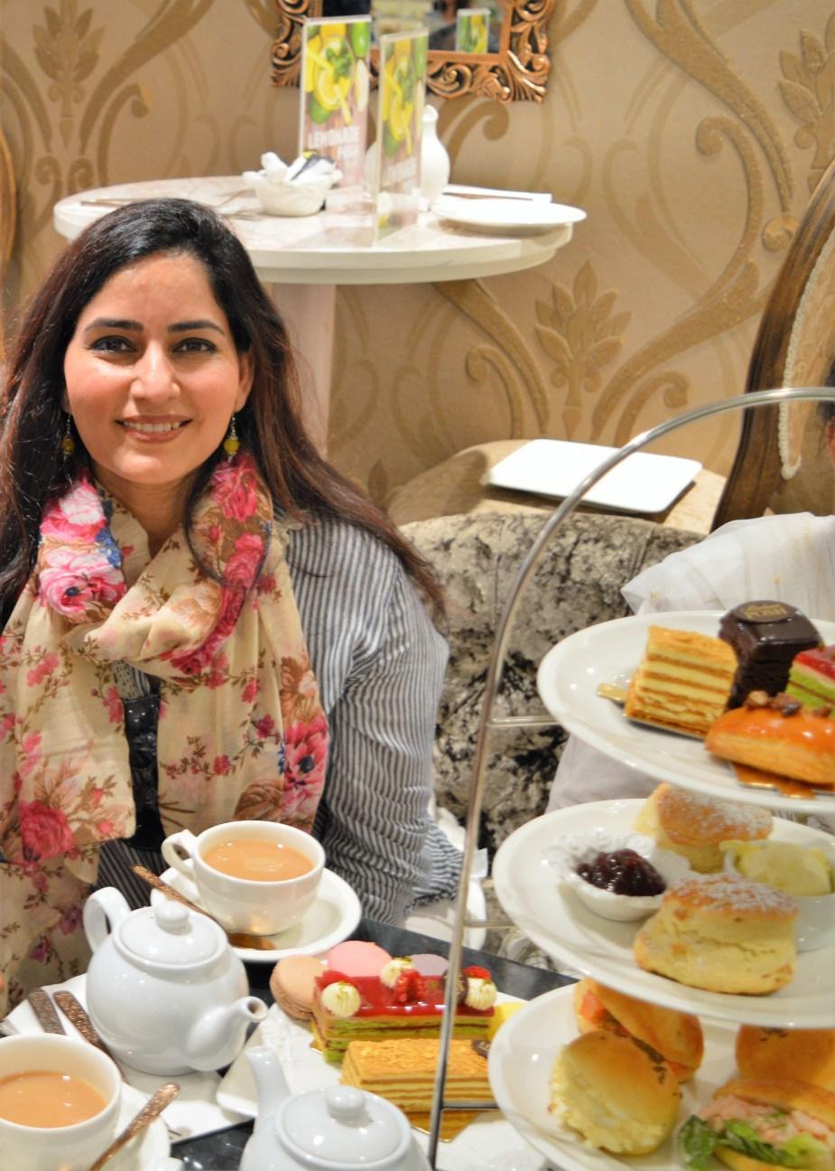 Tea at Madame Posh Windsor England