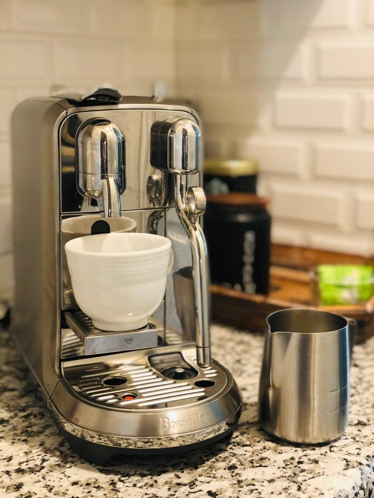 Father's Day Breville Nespresso Coffe Machine Gift