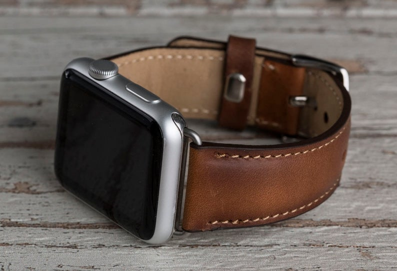 Father's Day Apple Watch with Leather Strap Gift