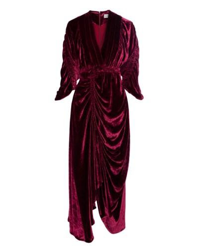 Preen velvet dress