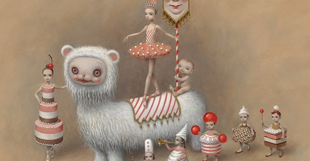 """Whipped Cream""- Mark Ryden x American Ballet Theater"