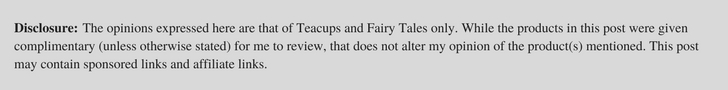 Teacups and Fairy Tales