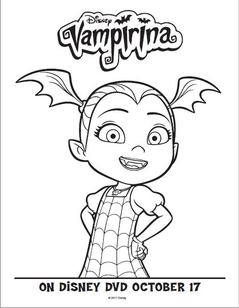 Disney Junior Vampirina + Free Activity sheets