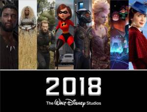 2018 Walt Disney Studios Movie Lineup! #Disney #Marvel