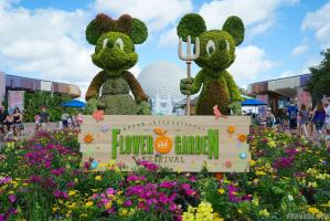 EPCOT International Flower & Garden Festival is in Bloom