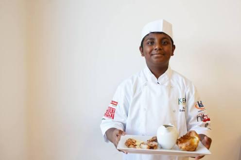 Junior winner Kajan Subakannan