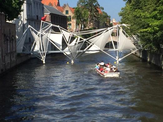 Walking through Brugge