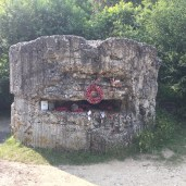 A preserved bunker