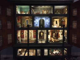 This is a dollhouse from the Frans Hal Museum. Fascinating mix of forms there.