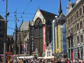 """We stopped the audio tour for what we expected would be a quick visit to this """"Nieuwe Kerk"""" (""""new"""" church -- as in 15th century). The exhibit was debuted here and will travel more of the world. Fantastic."""