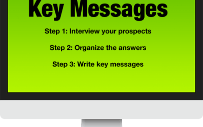 How to develop your website's key messages in 3 steps
