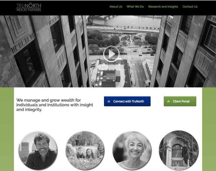 TruNorth Wealth Partners website content
