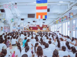 Celebrating Vesak at Hong Kong's Sri Lankan Buddhist Cultural Centre
