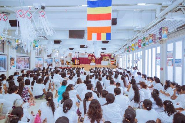Celebrating Vesak at Hong Kong's Sri Lankan Buddhist Cultural Centre