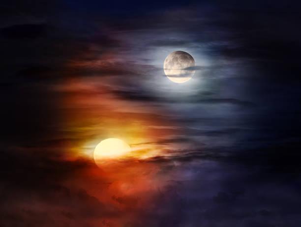 Even a Full Moon Needs Sunlight