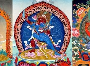 Vajravarahi and Her Consorts