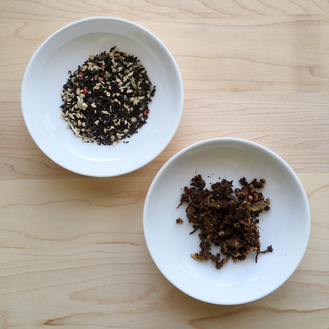 Teabox Spice Sparkler Chai Black Tea Dishes