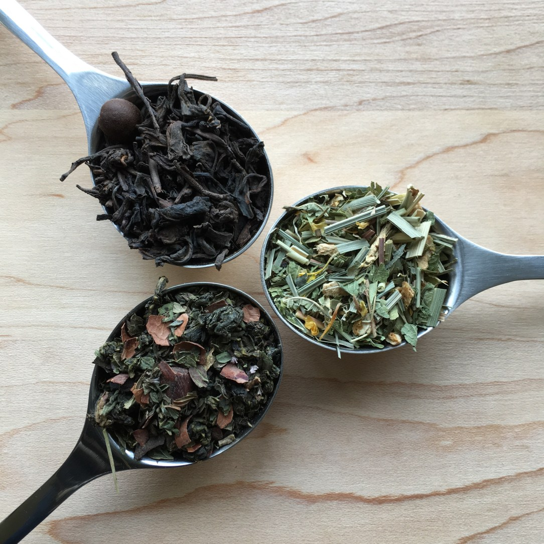 Bluebird Tea Co. Oolong Puerh Mate Tea Spoons