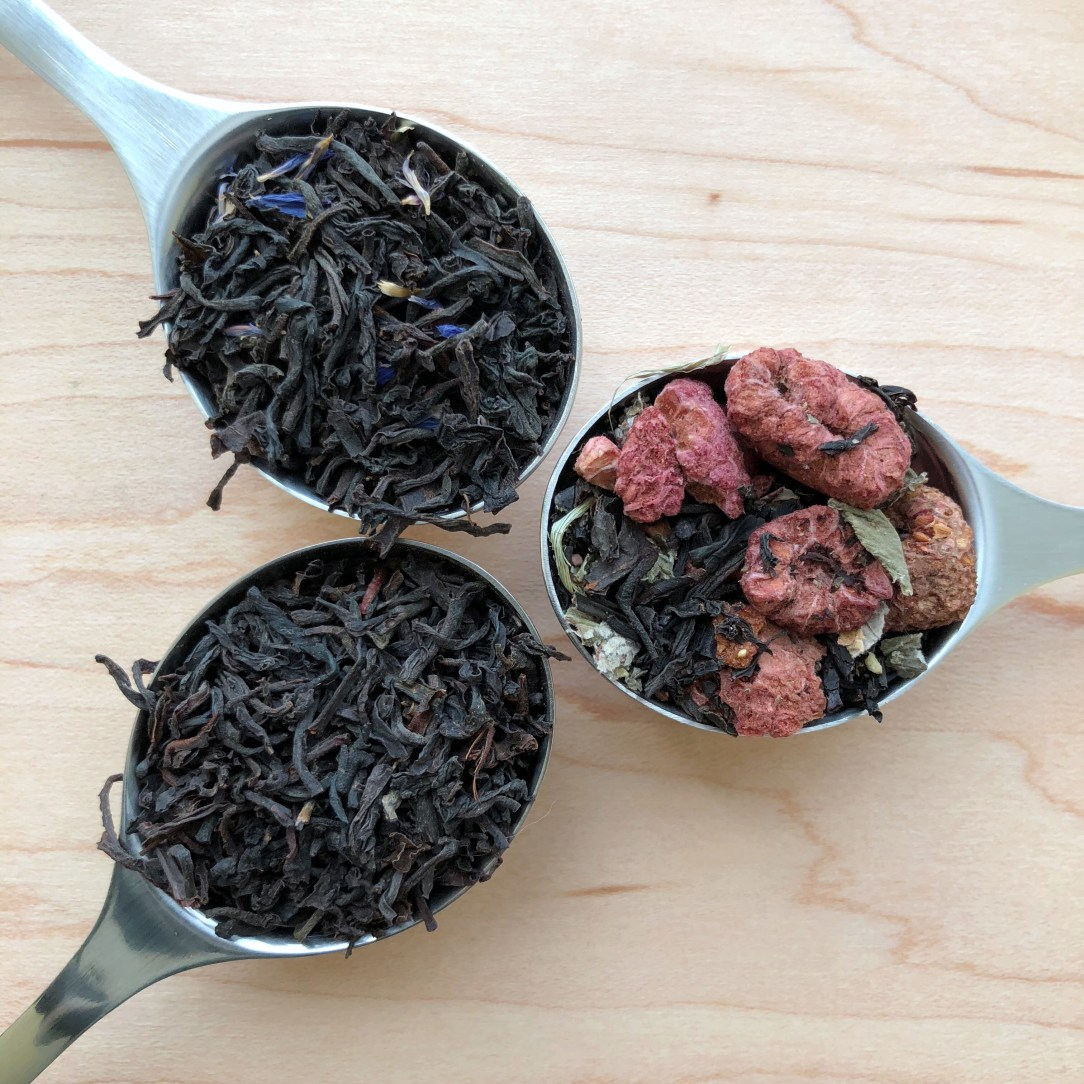 Bluebirds Tea Co Black Tea Spoons