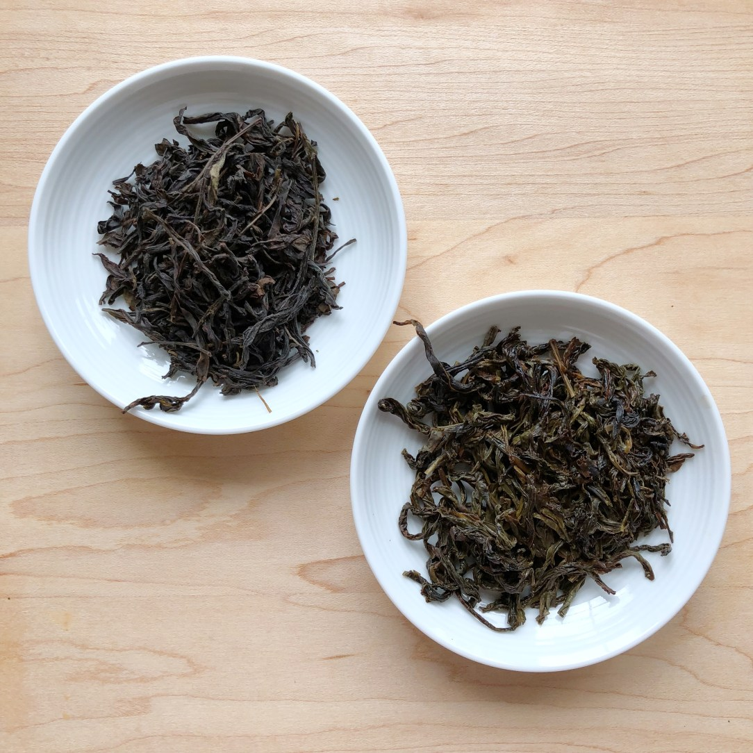 LH Tea Farmer Family Da Wu Ye Oolong Tea Dishes