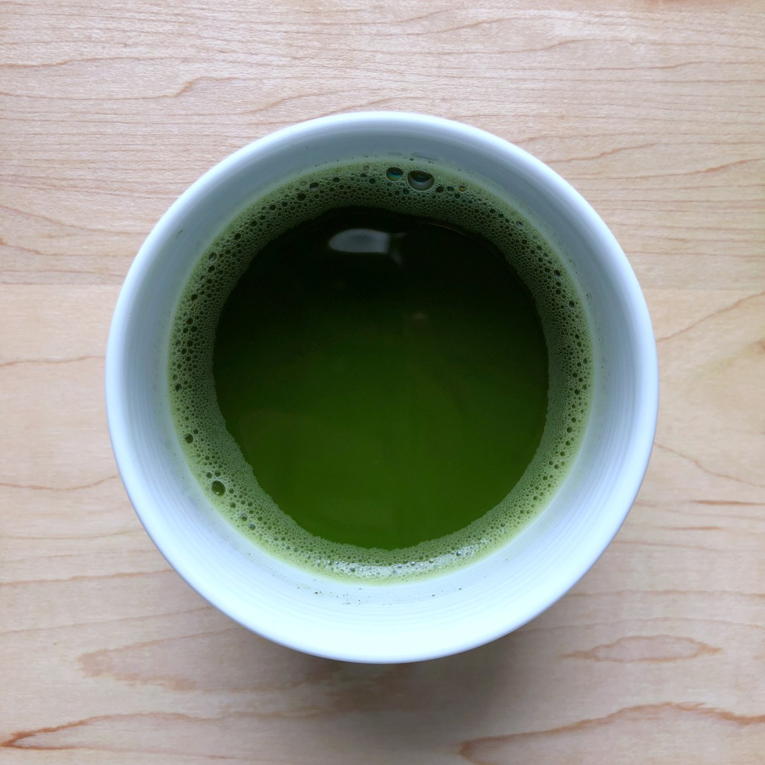 Ippodo Tea Co. Tancho no muashi Green Tea Matcha Cup