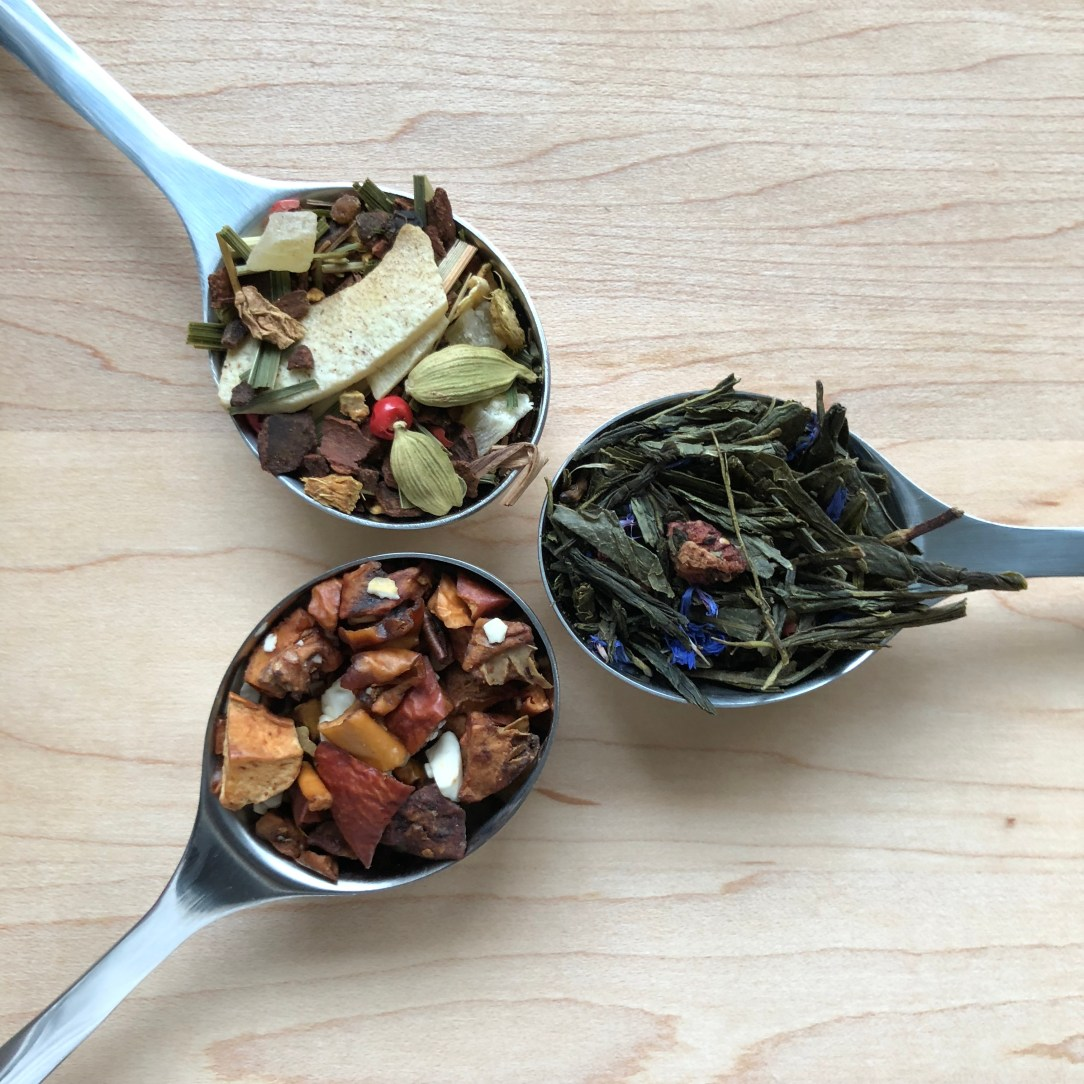 T by Daniel Green and Herbal Tea Spoons