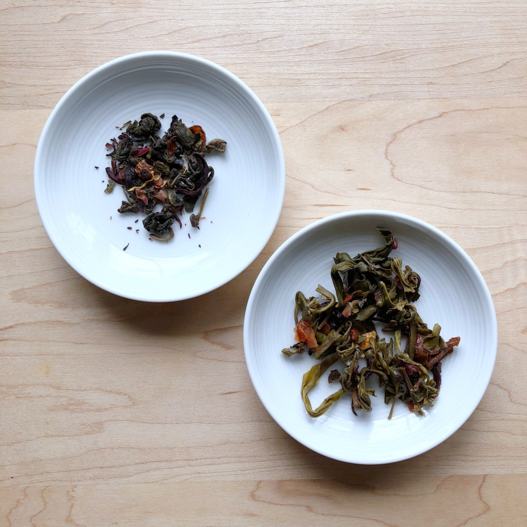 First Edition Tea Co. Toronto Green Tea Dishes