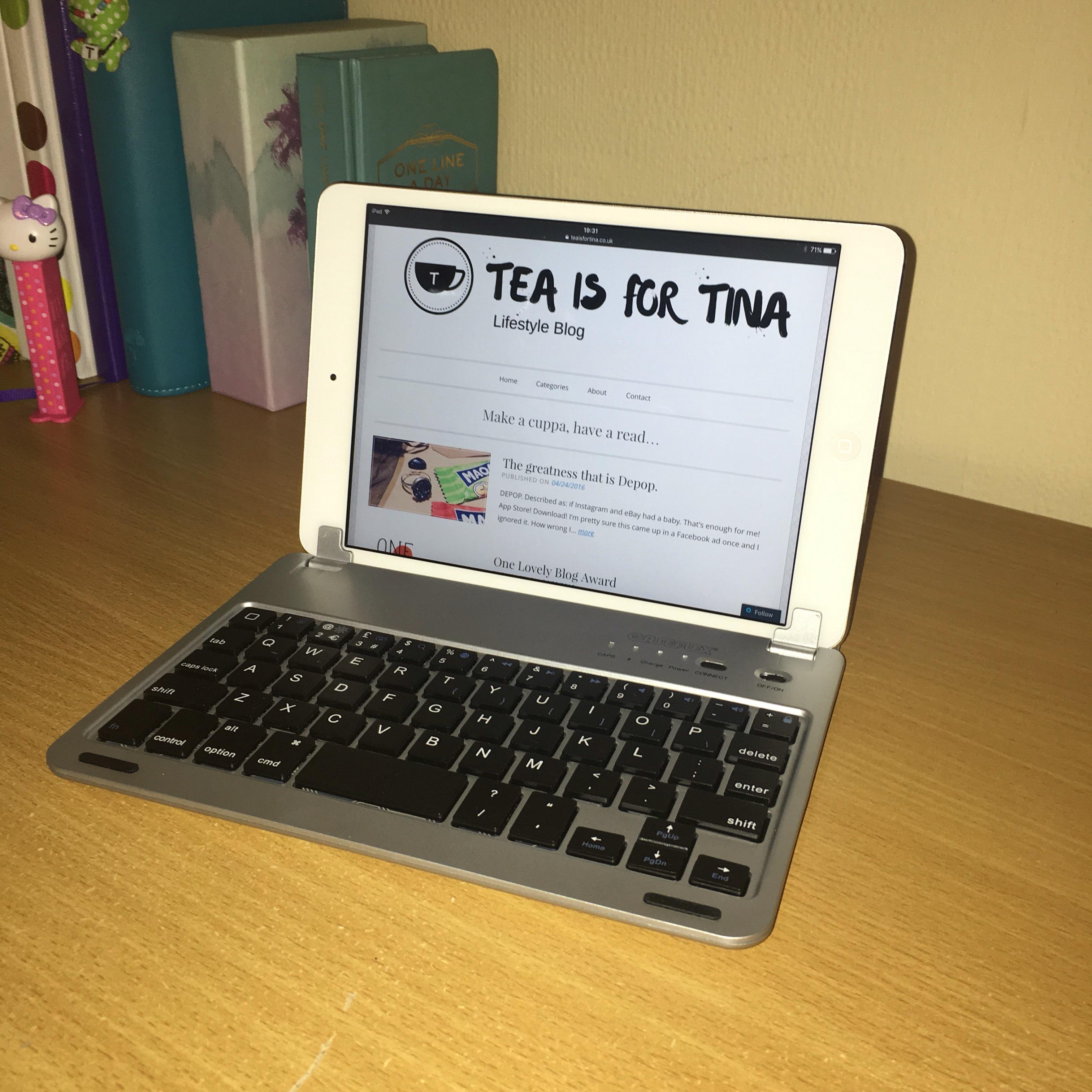 iPad keyboard Caseflex Bluetooth