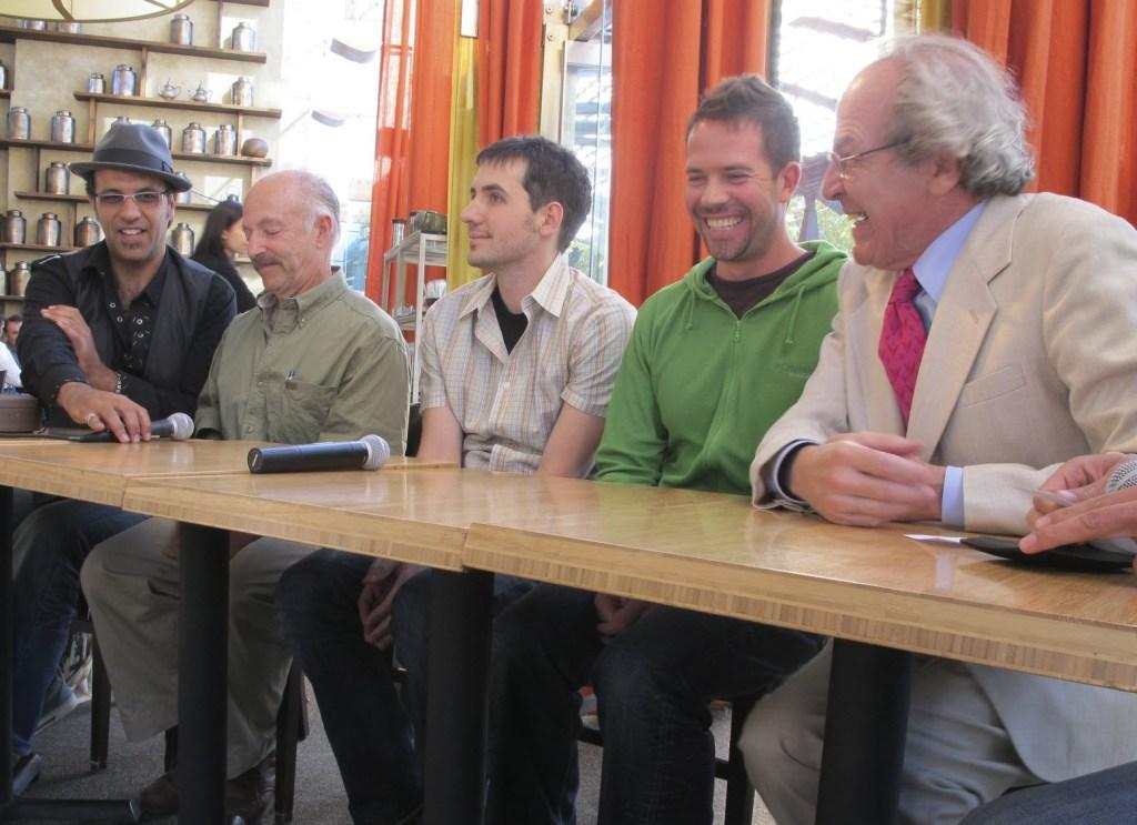 Ahmed Rahim, David Lee Hoffman, Kevin Rose, Joshua Kaiser and James Norwood Pratt
