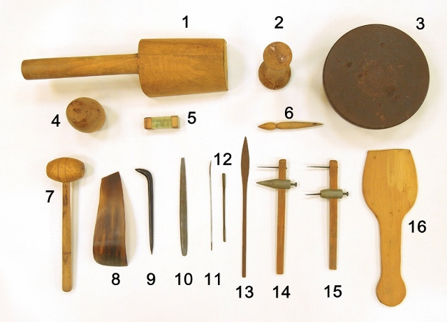 Final, sorry, asian pottery tools not